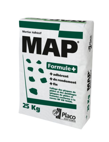 Mortier colle map formule sac de 25 kg placo - Papier peint pret a coller ...