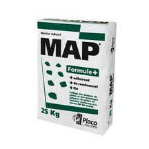 Mortier colle MAP Formule+ - sac de 25 kg
