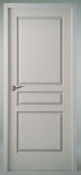 bloc porte alv olaire r sineux postform s viac h90 pr peinte recouvrement pddt emball. Black Bedroom Furniture Sets. Home Design Ideas