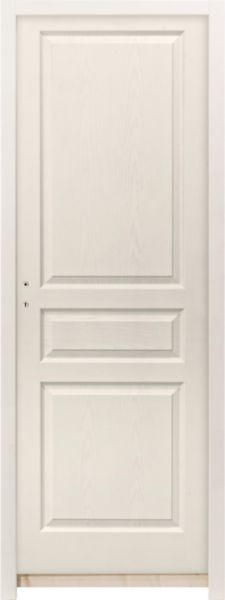 bloc porte postform alvolaire prpeint clermont td huisserie h88 poussant gauche 204x93 - Bloc Porte Postforme Isolante