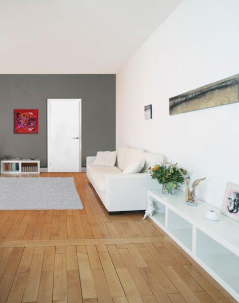 bloc porte me pleine r sineux pr peint h72 cr aconfort. Black Bedroom Furniture Sets. Home Design Ideas