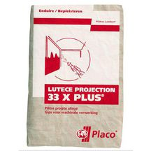 Plâtre Lutèce Projection 33 X Plus - sac 33 kg