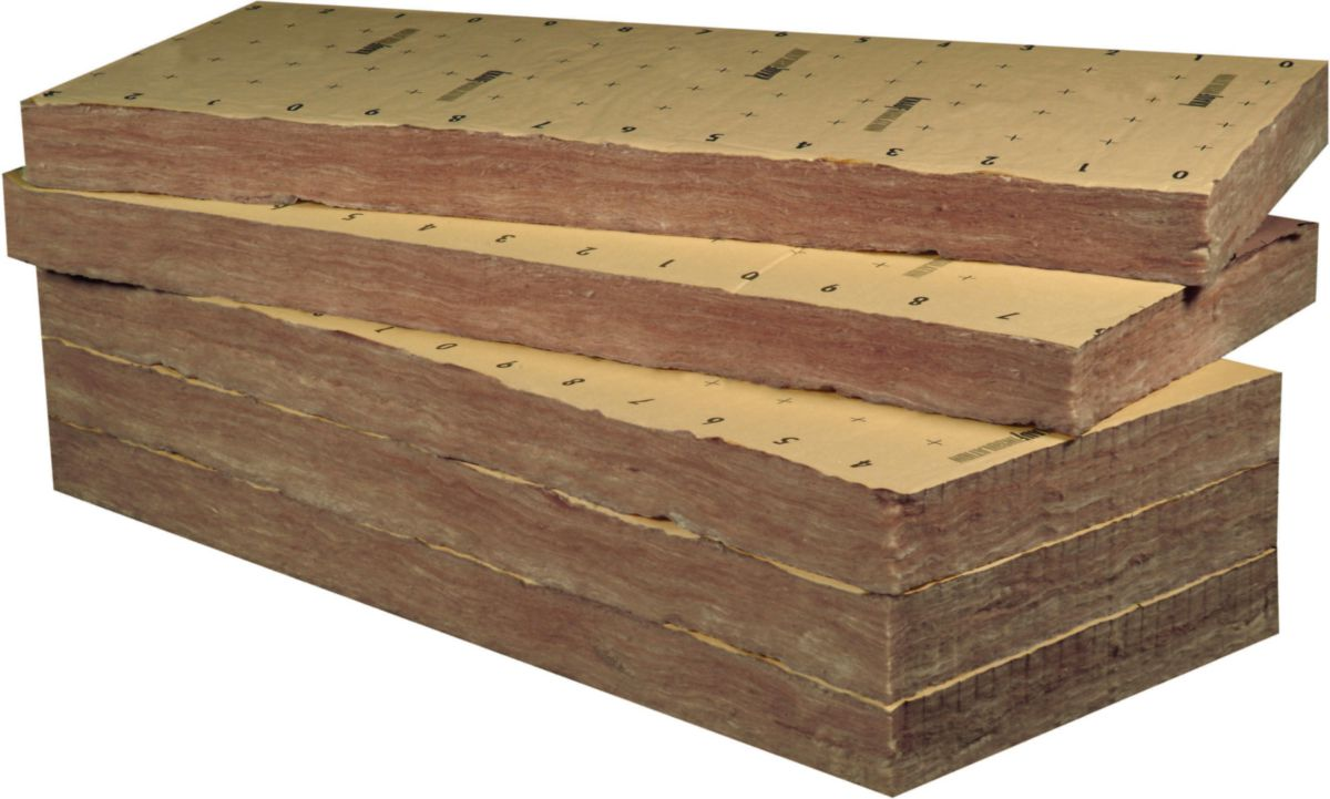 knauf insulation laine de verre rev tue kraft tp 238 1. Black Bedroom Furniture Sets. Home Design Ideas