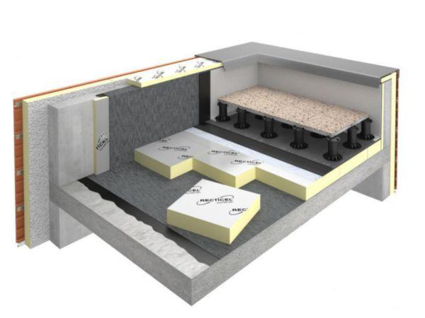 panneau isolant polyur thane eurothane autopro si paisseur 80mm 0 6x0 6m r 3 6 m k w. Black Bedroom Furniture Sets. Home Design Ideas