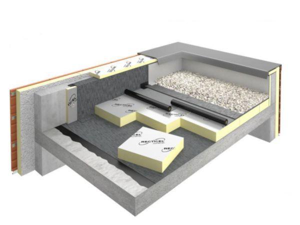 panneau isolant polyur thane eurothane autopro si paisseur 100mm 0 6x0 6m r 4 5 m k w. Black Bedroom Furniture Sets. Home Design Ideas