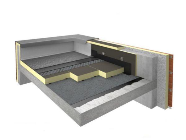 panneau d 39 isolation thermique polyur thane eurothane bi4 paisseur 30mm 1 2x0 6m r 1 15 m k w. Black Bedroom Furniture Sets. Home Design Ideas