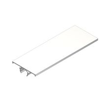 Couvre joint plat i7 37mm blanc 3,05 m