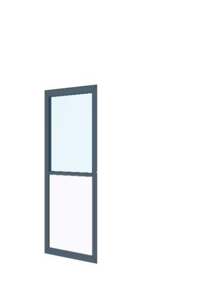 porte cadre alu ouvrante semi fixe simple vitrage all ge vitr e ral 810 mm clipper plafonds. Black Bedroom Furniture Sets. Home Design Ideas