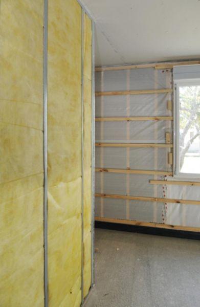 laine de verre sans voile de verre par phonic 45 26x0 6m 4x6 5m r 1 10 m k w isover saint. Black Bedroom Furniture Sets. Home Design Ideas