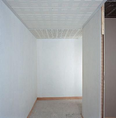 Dalle de plafond gyptone panel couloir line 8 e15 1 8x0 3m for Dalles plafond polyurethane