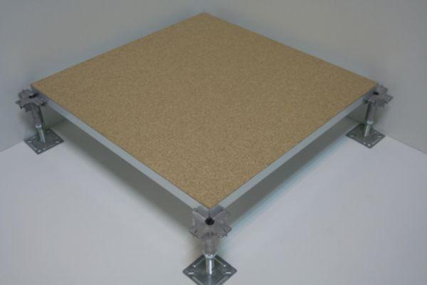 Dalle de plancher technique burobox agglom r dans bac - Tole acier 5mm ...