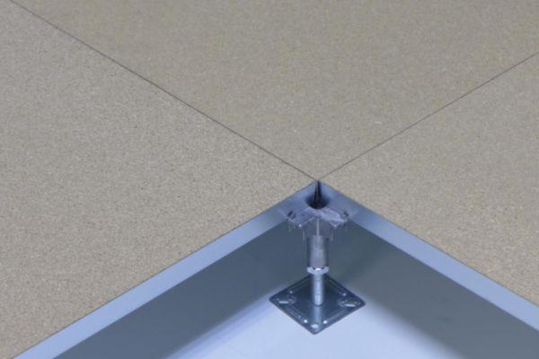 dalle de plancher technique burobox agglom r dans bac acier avec tole sup rieure 0 5mm. Black Bedroom Furniture Sets. Home Design Ideas