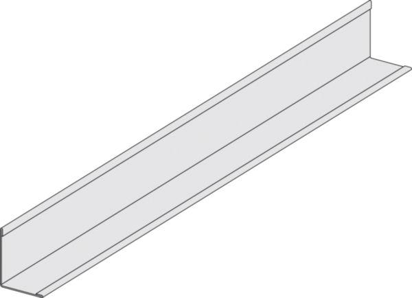 Cornière acier prélaqué blanc 30x30 longueur 3m ... - Cornière Acier 30X30