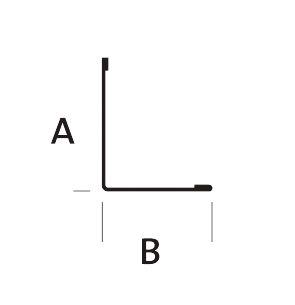EUROCOUSTIC - Cornière acier prélaqué blanc 30x30 longueur ... - Cornière Acier 30X30