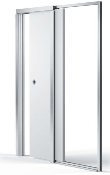 bloc porte navibloc 830 blanche placo plafonds cloisons isolation sfic le premier. Black Bedroom Furniture Sets. Home Design Ideas