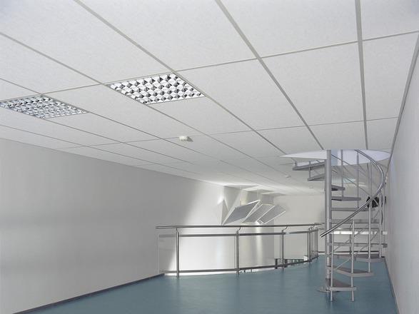 Dalle de plafond laine de verre advantage a t15 t24 ne - Hauteur de plafond standard ...