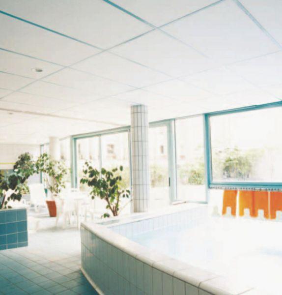plafond acoustique cadence bord a paisseur 20mm 0 6x0 6m ecophon plafonds cloisons. Black Bedroom Furniture Sets. Home Design Ideas