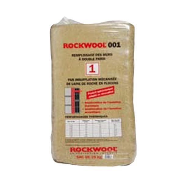 laine de roche rockwool 001 sac de 25kg rockwool. Black Bedroom Furniture Sets. Home Design Ideas